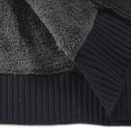 Color Block Hooded Casual Knitted Sweater